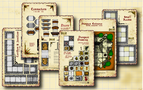 dungeon tiles whq dnd home made floor plans dungeon