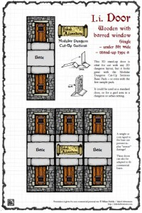 Free Inked Adventures doors at DriveThruRPG