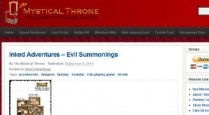 mystical throne web site