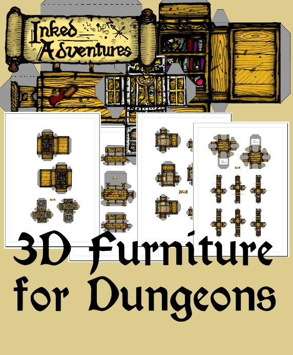 Link to 3D furniture on DriveThruRPG