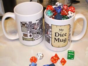 Photo of Inked Adventures Dice Mugs