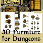 Buy 3D Furniture for Dungeons and profits go to Doctors Without Borders