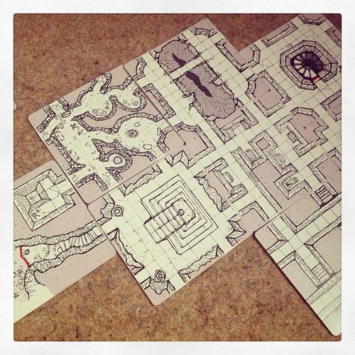 Inked Adventures Hand Drawn Geomorph Tiles from The Game Crafter site