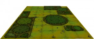 Tree counters on grass background mock-up (c) Inked Adventures 2014