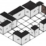 Drawn mock-up layout - Inked Adventures Blocks