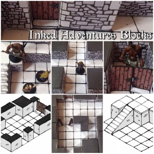 Promo Teaser Photos of Inked Adventures Blocks
