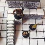 Second level and steps encounter - Inked Adventures Blocks