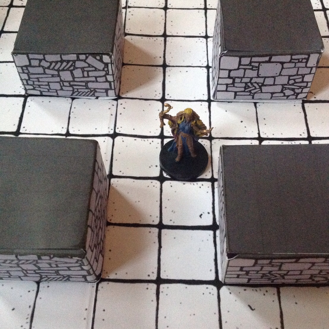 photograph regarding Printable Dungeon Tiles Pdf called Inked Adventures