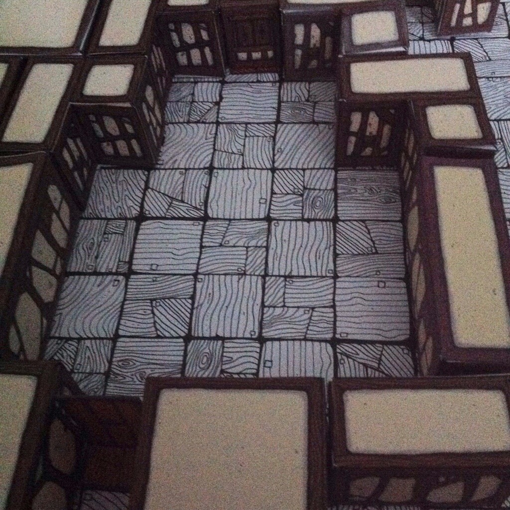 Inked Adventures Blocks Rustic Timber Interior Inked