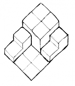__isometric_steps_and_block