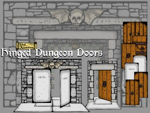 Hinged_Dungeon_Doors_Inked_Adventures_2015___poster_graphic_medium