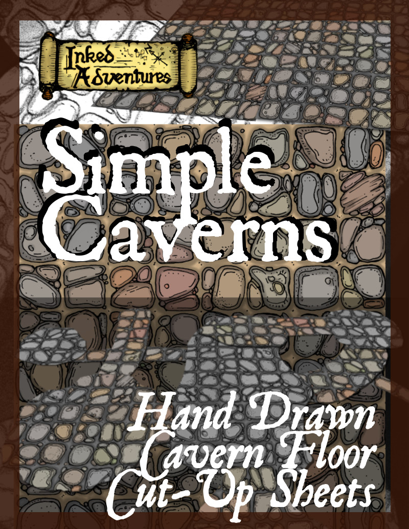 simple_caverns__promo_cover___inked_adventures_2016