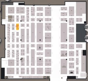 UKGE18 Hall 1 Map. Click to embiggen